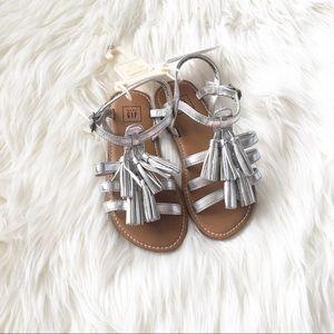 NWT BabyGap Tassel Sandals